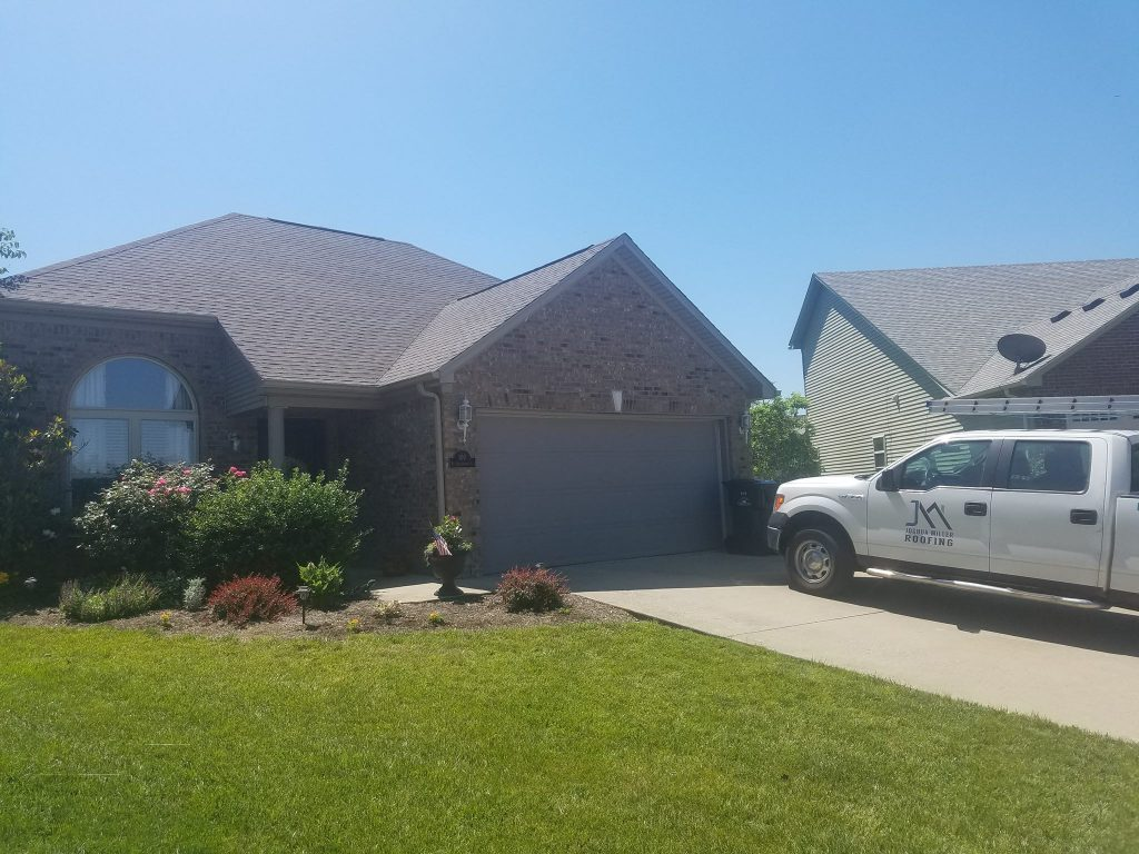 GAF Timberline HD - Mission Brown Shingles